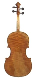 Viola 2010 after Guadagnini Milan 1757 back view