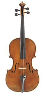 Viola 2010 after Guadagnini Milan 1757 Front view
