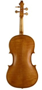 Baroque viola 2012 after Baker Oxford 1683 back