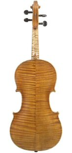 Violin 2008 after Hardie Edinburgh c1800 back view