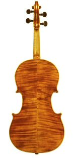 Viola 2005 after Mantagazza Milan 1790 Back view