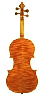 Violin 2006 after Seraphin Venice 1743 Back view