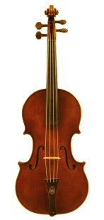 Violin 2006 after Seraphin Venice 1743 Front view